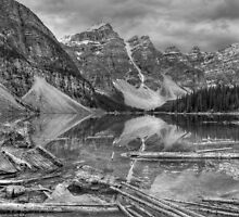 Ragged Moraine by JamesA1