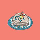 Retro Abstract Pancakes by Todd Fischer