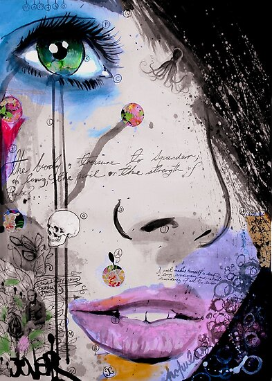 the strength of psyche by Loui  Jover