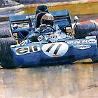 Tyrrell Ford 003 Jackie Stewart 1971 French GP by Yuriy Shevchuk