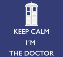 Keep Calm I'm the Doctor Shirt T-Shirt