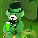 WISHING U ALL A BEARY HAPPY ST. PADDY&#x27;S DAY CHEERS by  Bonita Lalonde