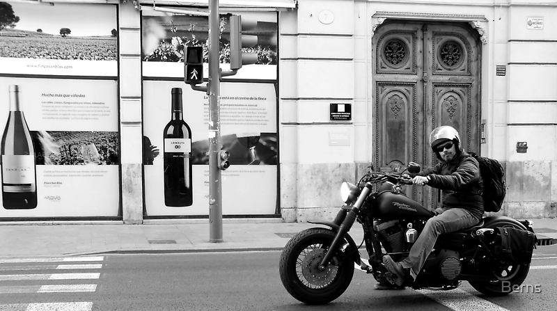 Wine .. Walk . or Ride ... by Berns