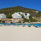 Cala Llonga Beach Panorama by Tom Gomez