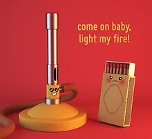 Come on Baby, Light my Fire - Cute Chemistry by chayground
