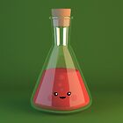 Science Flask - Cute Chemistry by chayground
