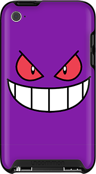 Gengar Face by Earth-Gnome