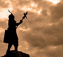 Inca King Silhouette by Al Bourassa