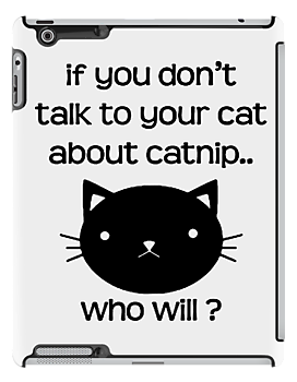 Funny Catnip (Black) by Earth-Gnome