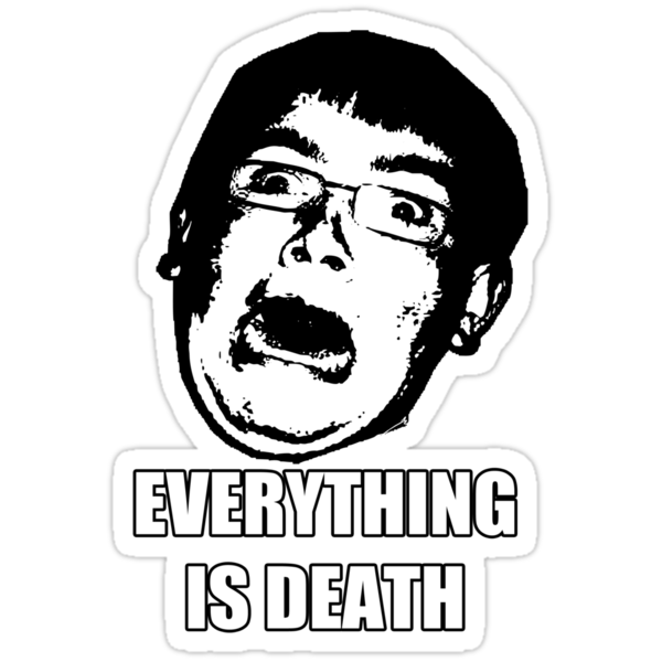 "Tom ""Everything is death"" by MrJamma"