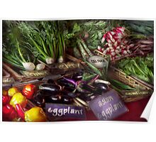 Food - Vegetables - Very fresh produce  Poster
