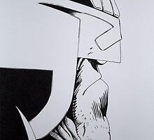 Judge Dredd by Ant-Acid