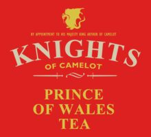 KNIGHTS Of Camelot Tea (yellow) by sirwatson