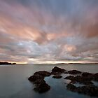 Rhosneigr sunset by Beverly Cash