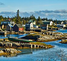 Fishing Village by clime