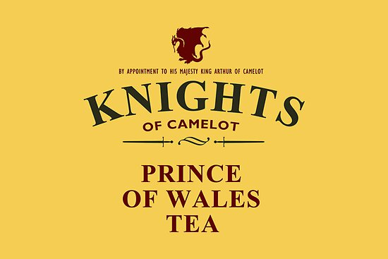 KNIGHTS Of Camelot Tea by sirwatson