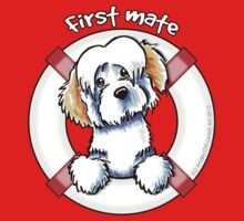 White Piebald Havanese :: First Mate by offleashart