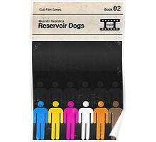 Reservoir Dogs Modernist Book Cover Series  Poster