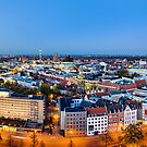 Hannover Skyline by Mapics