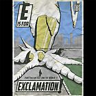 E is for EXCLAMATION! by Michael Alesich