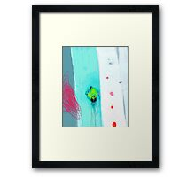 My special place for blue blush Framed Print