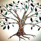 paisley tree by Xtianna