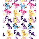 MLP:FiM Mane 6 by VicLast