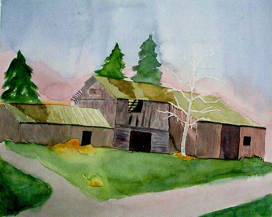Old Barn on Pavlica Rd. #2 by Marriet