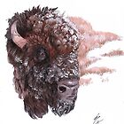 Buffalo Mother by SixRabbits