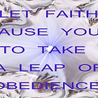 A LEAP OF FAITH by Lorraine Wright