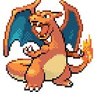 Pixel Charizard by N1N10D0PE