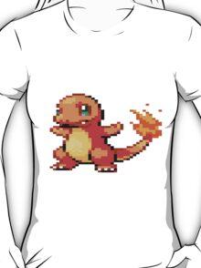 Pixel Charmander T-Shirt