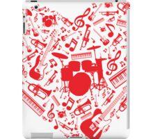 Music Love iPad Case/Skin