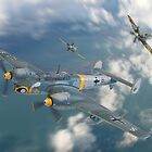 Dogfight Over The Channel by Colin J Williams Photography