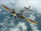 Spitfire In The Clouds by Colin J Williams Photography