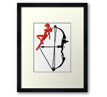 ARCHERY-SEXY COMPOUND Framed Print