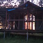 Sunrise - a studio in progress by louisegreen