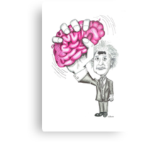 Brain Wave Metal Print