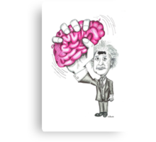 Brain Wave Canvas Print