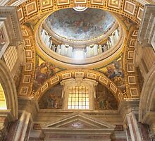 St Peter's Basilica  by Louise Fahy
