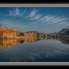 Golden Hour@Amber Fort by Mukesh Srivastava