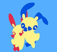 【2300+ views】Pokemon Minun (for Boy) by Ruo7in