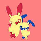 【700+ views】Pokemon Plusle (for Girl) by Shaojie Wang