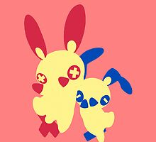 【1000+ views】Pokemon Plusle (for Girl) by Shaojie Wang