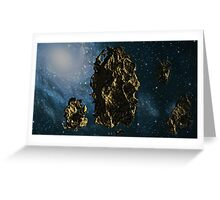 Space Dust Greeting Card