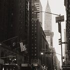 Chrysler Building by Gisele  Morgan