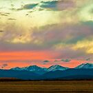 Mummy Range Sunset by Greg Summers