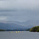 Sailing on Lake Windermere by Greta van der Rol