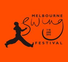Melbourne Swing Festival 2013 official tee by SwingPatrol
