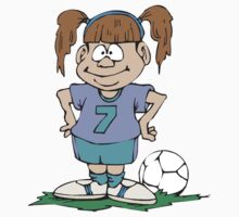 Girl's Soccer by SportsT-Shirts